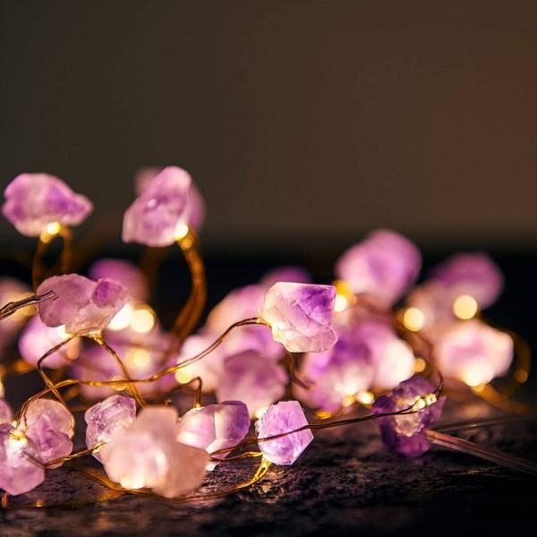 Cristale naturale Ametist Luminoase