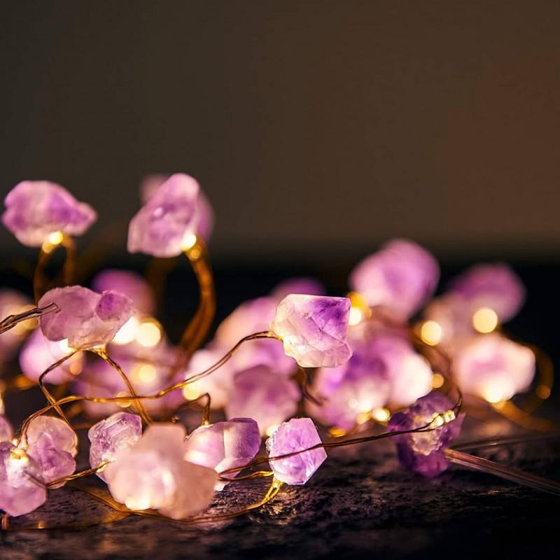 cristale naturale ametist luminoase accesorii pentru starea ta de bine! cristale naturale ametist luminoase 2