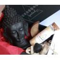 set statueta buddha astral box - seturi cristale energetice set cu statueta buddha neagra, lumanare chakra si cristale energetice 5