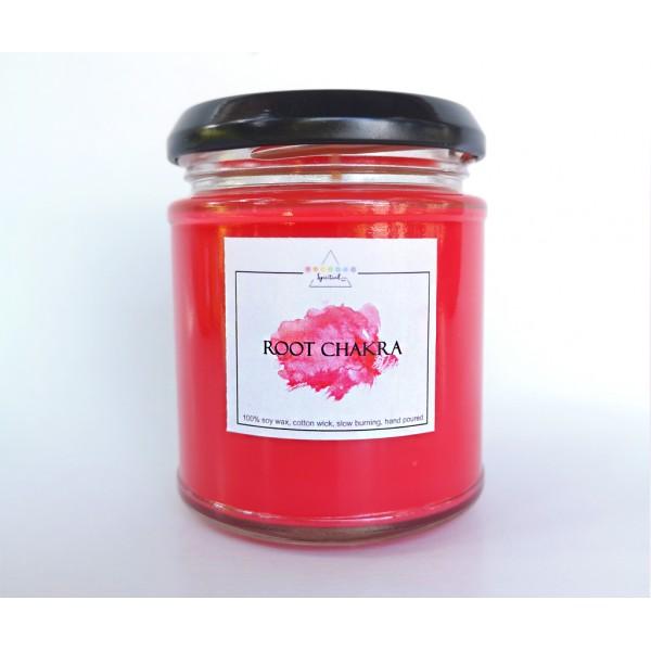 Lumanare parfumata Chakra Radacina