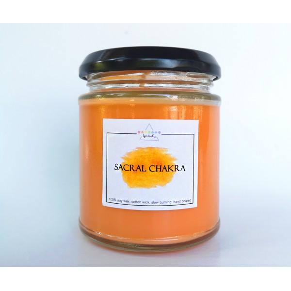 Lumanare parfumata Chakra Sacrala