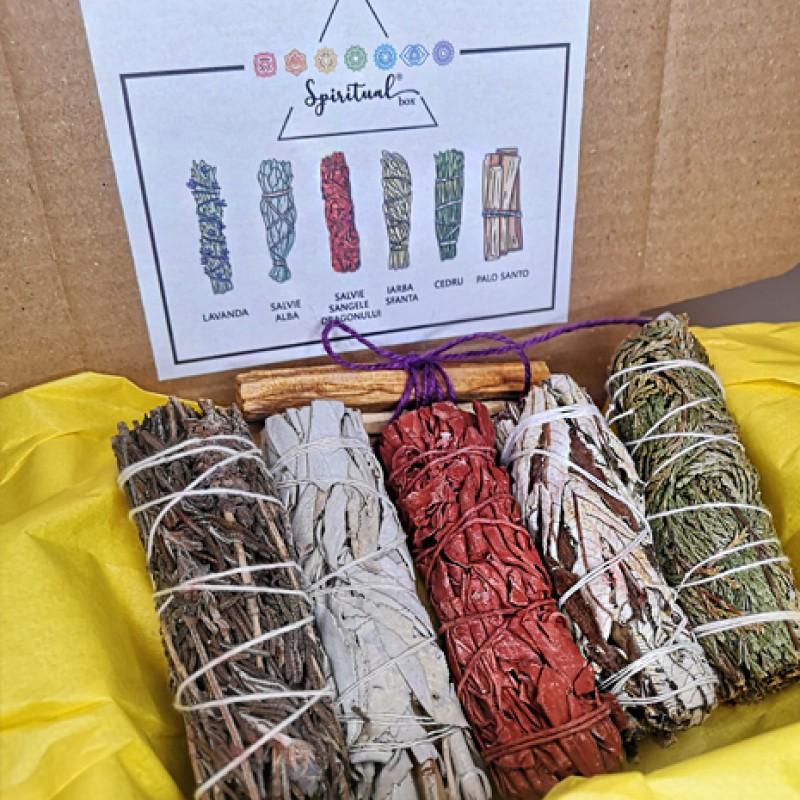 set fumigatie 6 buchete purificare chakre set fumigatie 6 buchete 2