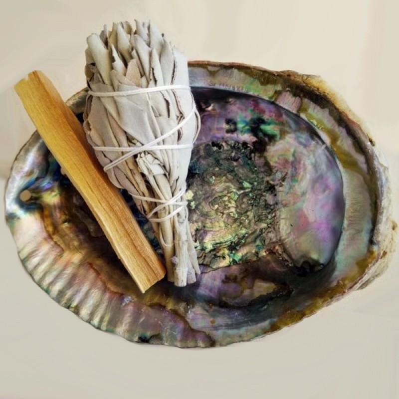 set purificare purificare chakre set de purificare spirituala cu lemn palo santo 2