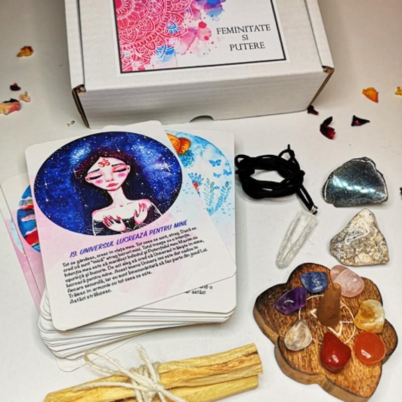 set carti oracol feminitate si putere accesorii pentru starea ta de bine! set carti oracol feminitate si putere 2