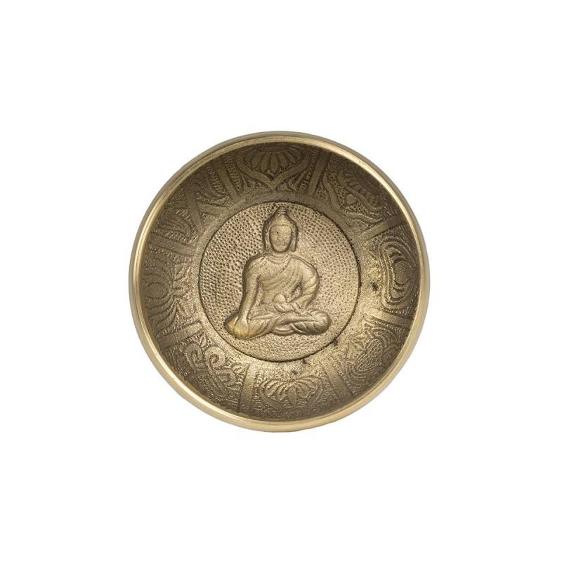 bol tibetan 7 metale 9 cm diametru boluri tibetane bol tibetan lucrat manual din 7 metale 2