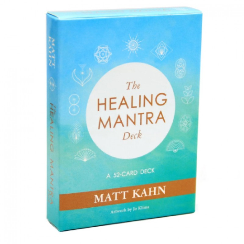 carti de tarot - the healing mantra deck accesorii pentru starea ta de bine! carti oracol mantra - the healing mantra deck pentru abundenta 2
