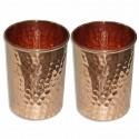 set 2 pahare cupru accesorii pentru starea ta de bine! set 2 pahare cupru realizate manual 3