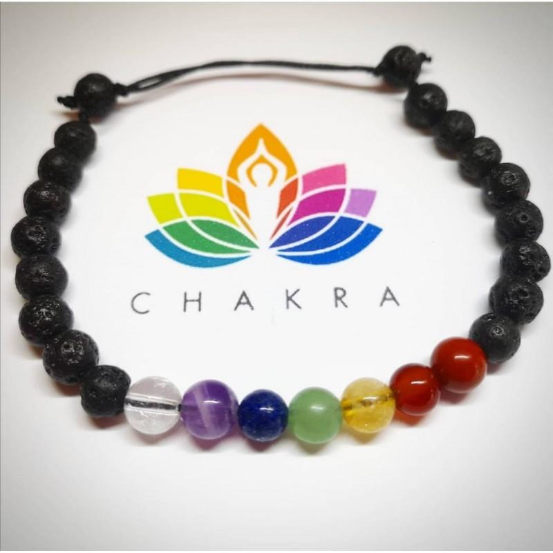 bratara 7 chakre neagra accesorii pentru starea ta de bine! bratara 7 chakre neagra cu cristale naturale pentru 7 chakre 2