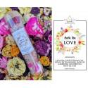 sare de baie parfumata - ritual accesorii pentru starea ta de bine! sare de baie parfumata cu flori de lavanda si petale de trandafiri 4