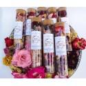 sare de baie parfumata - ritual accesorii pentru starea ta de bine! sare de baie parfumata cu flori de lavanda si petale de trandafiri 3
