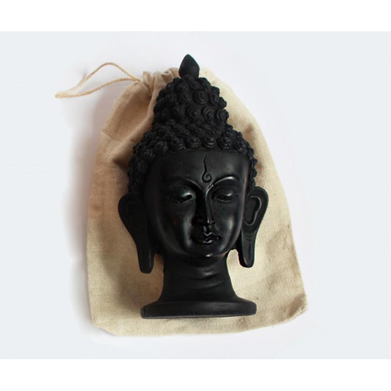 statueta budhha accesorii pentru starea ta de bine! statueta budhha cap de statueta buddha neagra 2