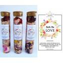 sare de baie parfumata - ritual accesorii pentru starea ta de bine! sare de baie parfumata cu flori de lavanda si petale de trandafiri 7