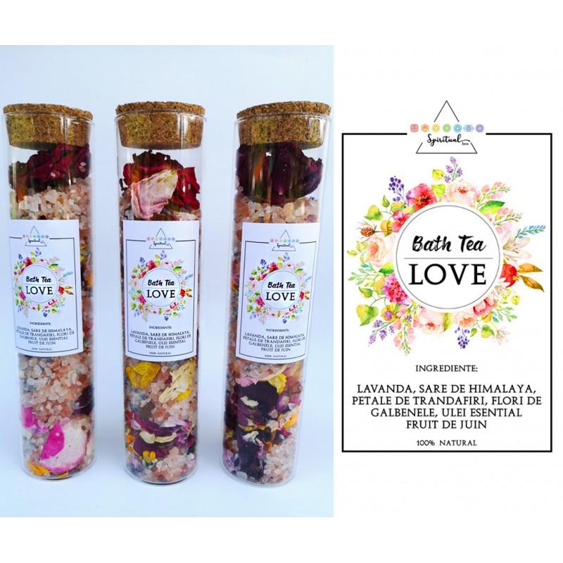 sare de baie parfumata - ritual accesorii pentru starea ta de bine! sare de baie parfumata cu flori de lavanda si petale de trandafiri 2