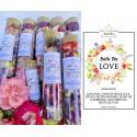 sare de baie parfumata - ritual accesorii pentru starea ta de bine! sare de baie parfumata cu flori de lavanda si petale de trandafiri 6