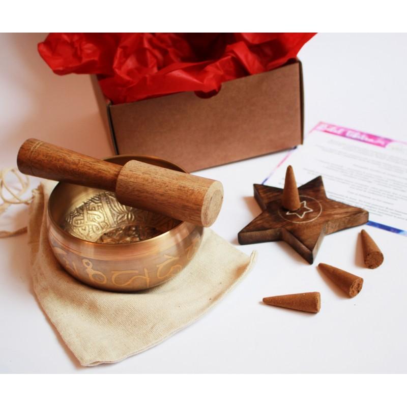 set bol tibetan si conuri parfumate harmony box set bol tibetan si conuri parfumate pentru echilibrarea chakrelor 2