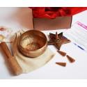 set bol tibetan si conuri parfumate harmony box set bol tibetan si conuri parfumate pentru echilibrarea chakrelor 5