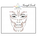 cuart roz - rola masaj accesorii pentru starea ta de bine! rola masaj facial din cuart roz 3