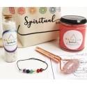 set cu rola de masaj - cuart roz harmony box set cu rola de masaj din cuart roz 4