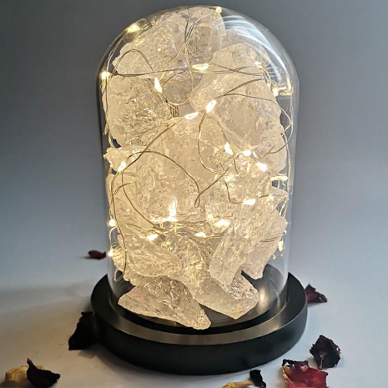 cuart de stanca - dom cristale naturale brute terariu cristale cuart de stanca - dom cristale naturale brute 2